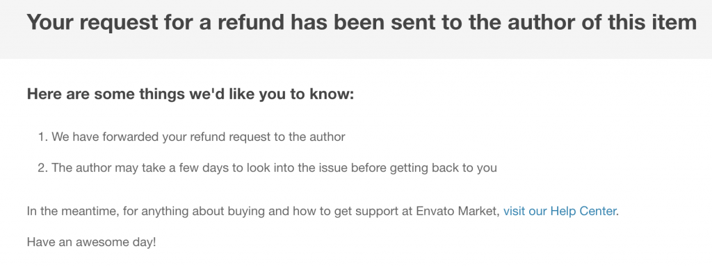 I have requested a refund for the Workice CRM on Envato.