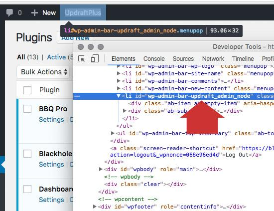 How To Remove Items From The WordPress Toolbar